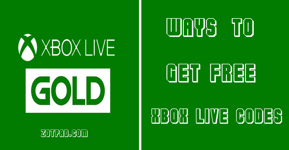 Xbox live codes giveaway
