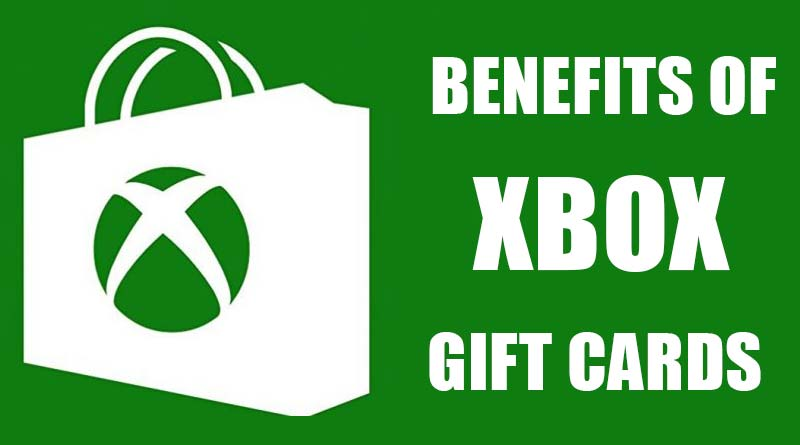 xbox gift cards benefits