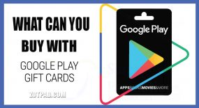 Use of Google Play Gift Cards