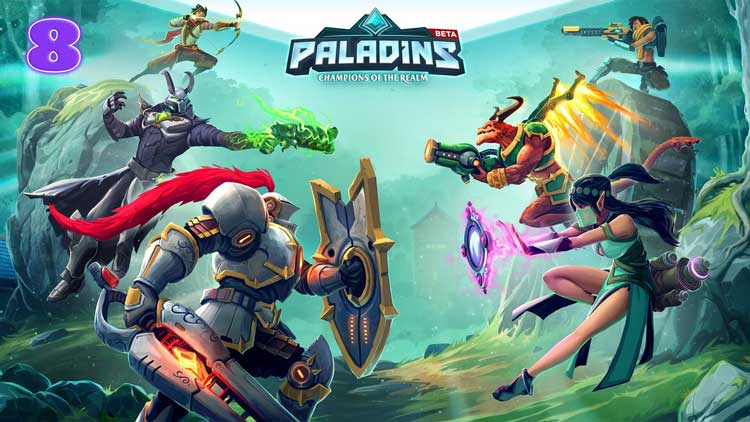 Paladins - Best nintendo switch games 2019