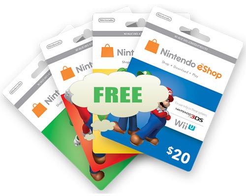 nintendo switch eshop free download codes