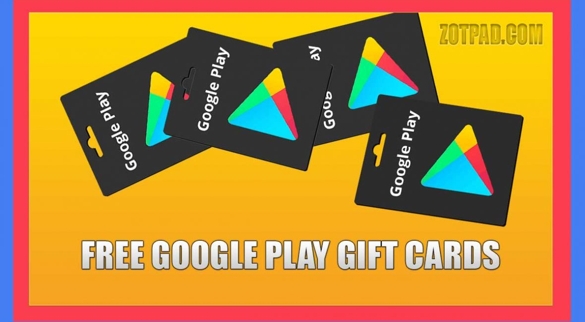 Free Google play wallet codes