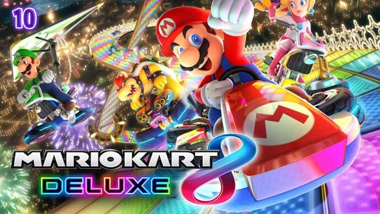 Mario Kart 8 delux -Best nintendo switch games