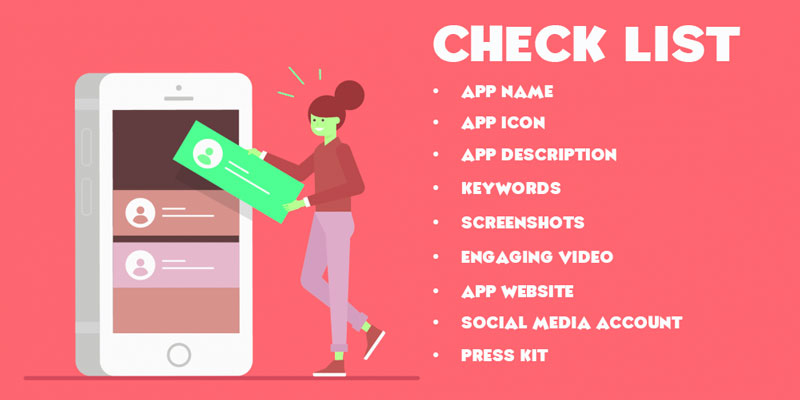 Checklist for app promotion in Google Play Store