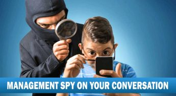 Management spy on conversion